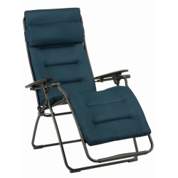 Relax Futura Clippe Be Comfort bleu, Stahl 100% Polyester