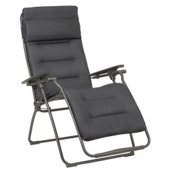Relax Futura Clippe Be Comfort dark grey, Stahl 100% Polyester