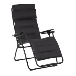 Relax Futura Aircomfort Farbe acier , Stahl Bezug aus 100% Polyester