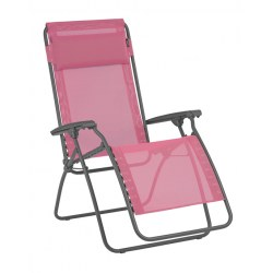 Relax R Clip in Farbe begonia, Stahl / Bezug Batyline (72% PVC, 28% Polyester )
