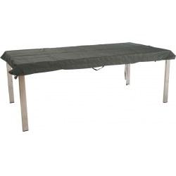 Schon Abdeckhaube Für Tischplatte Rechteckig 160x90 Cm Mit Bindebänder+Klett In  Grau 100% Polyester