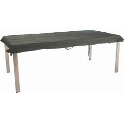 Attraktiv Stern Abdeckhaube Tischplatte Rechteckig 250x100 Cm Grau 100% Polyester