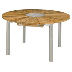 Gartentisch rund holz ausziehbar  Gartentische online kaufen - Gartenmöbel Jendrass