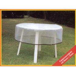 Abdeckhaube Für 100 Cm Tisch In Transparent Material:  Polyäthylen Gitter Folie